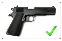 "1911 - standard 5"" barrel"